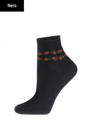 Жіночі шкарпетки з квітковим принтом TM GIULIA WTRM-008 calzino