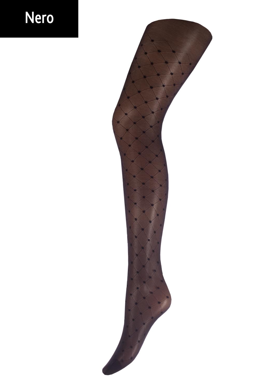 Колготки с рисунком Afina 40 model 1 вид 1