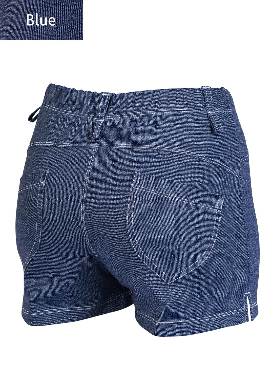 Шорты женские Shorts mini jeans model 4 вид 1