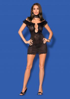 сексуальная сорочка в комплекте с трусиками-стринг TM