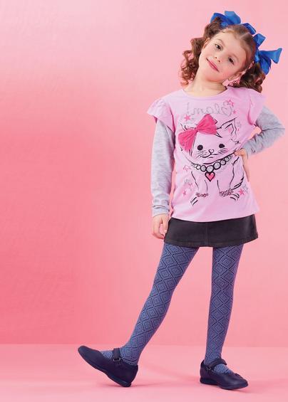 Детские колготки LACY 120 model 6- купить в Украине в магазине kolgot.net (фото 1)