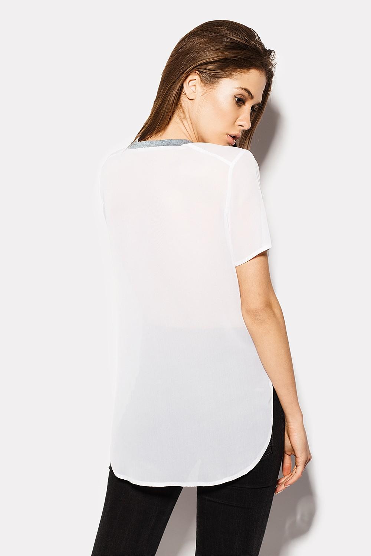 Футболки женские футболка sendi crd1507-001 вид 1