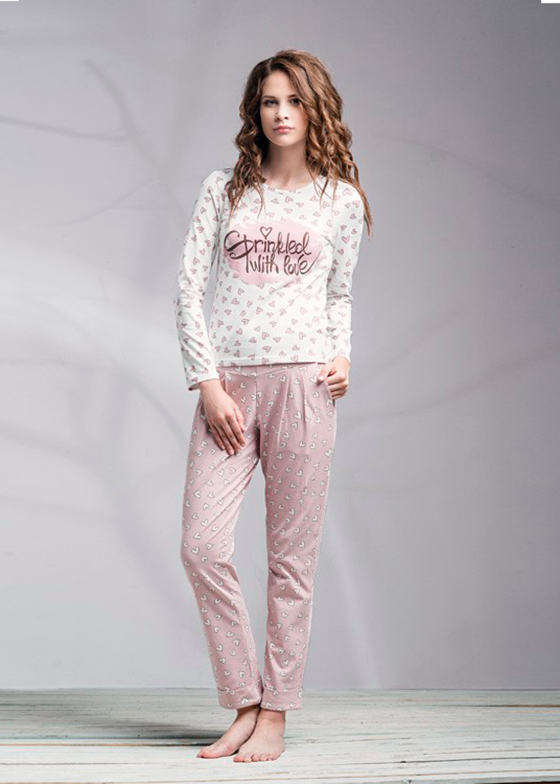 Домашняя одежда пижама женская lnp 040/001