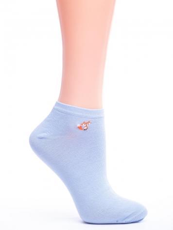 Укороченні жіночі шкарпетки з малюнком TM GIULIA LSS-006 calzino