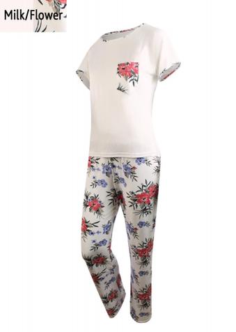Комплект (футболка с штанами) для домашнего отдыха ТМ GIULIA LETUAL 5106/030