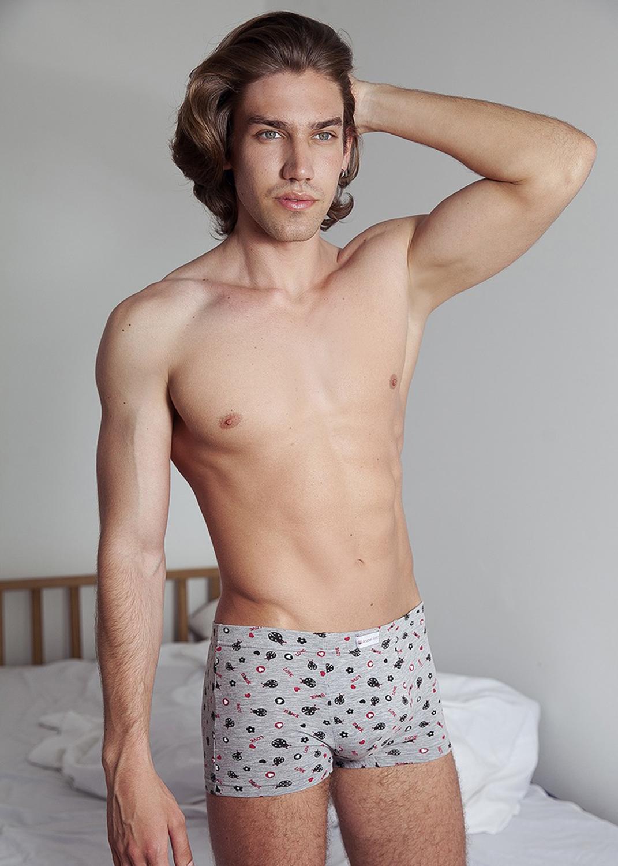 Трусы мужские мужские трусы шорты вид 3