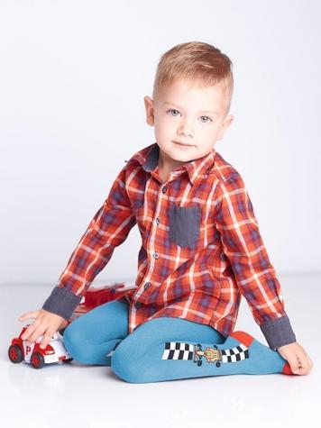 Детские хлопковые колготки TM GIULIA D019 LITTLE KIDS
