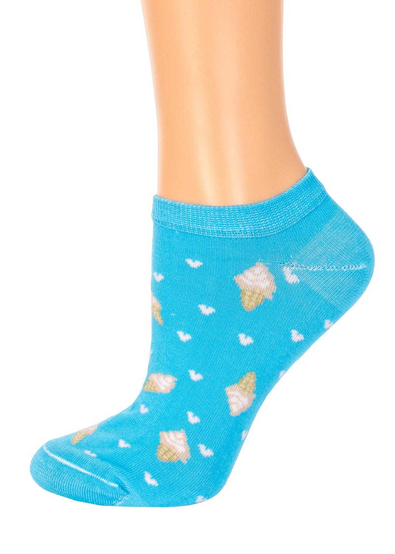 Носки женские носки c мороженком cs-18