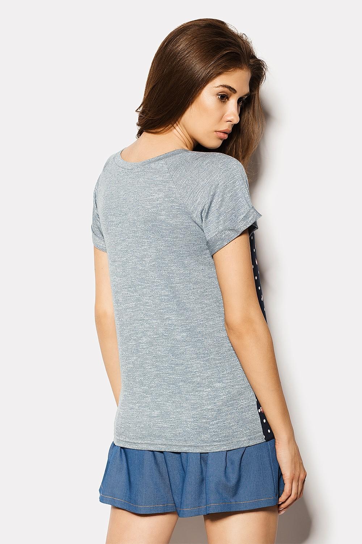 Футболки женские футболка chic crd1507-010 вид 1