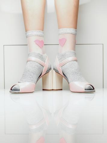 Фантазийные женские носки TM GIULIA WSM-013 melange calzino