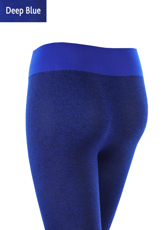 Леггинсы женские Leggings sport melange color вид 4